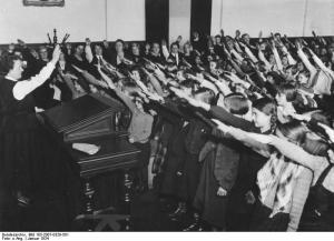Reichsgründungsfeier, Schulklasse