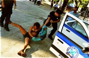 Greek Police Violence 19 Ελληνική Αστυνομία βία